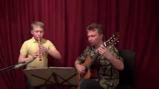 Minstrel hall. (cover) Гитара флейта.