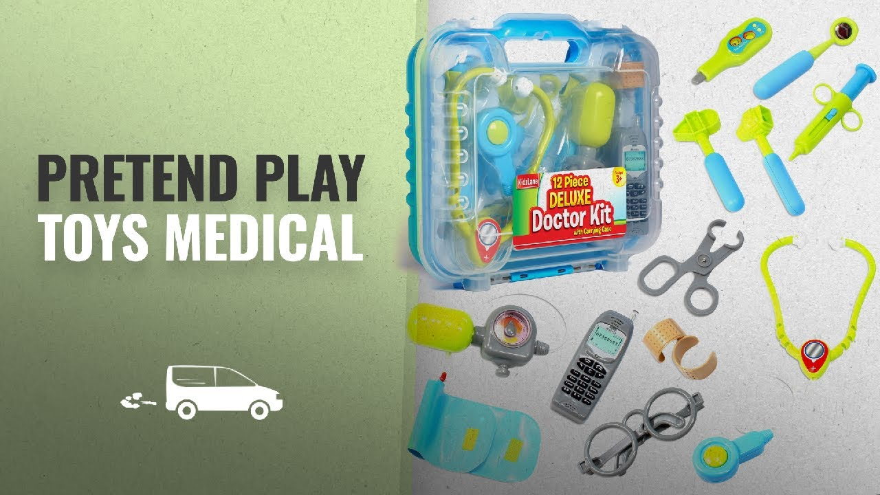 a0007fc6c Pretend Play Toys Medical Kits [2018]: Durable Kids Doctor Kit with ...