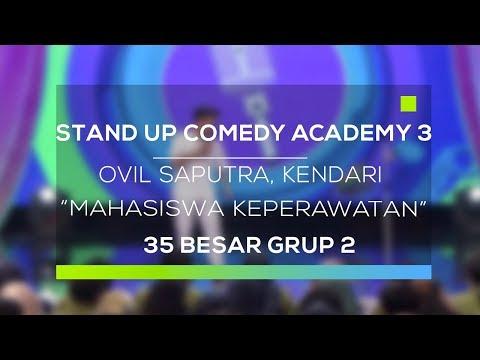 Stand Up Comedy Academy 3 : Ovil Saputra, Kendari - Mahasiswa Keperawatan