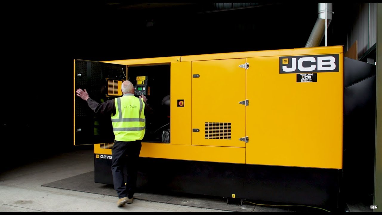 Choose a JCB Generator to support your business.