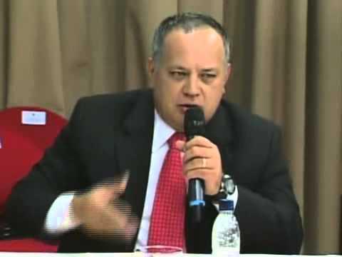 Diálogo Maduro-Oposición: Palabras de Diosdado Cabello