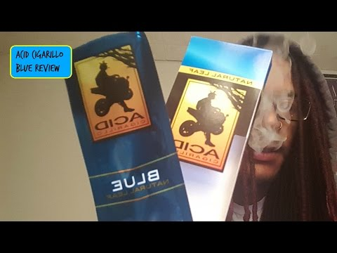 ACID Cigarillo Blue Review