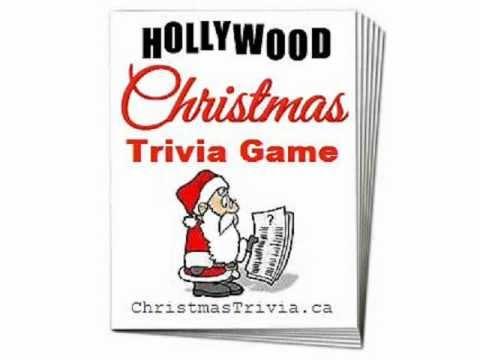 Trivia Game Christmas Party Ideas