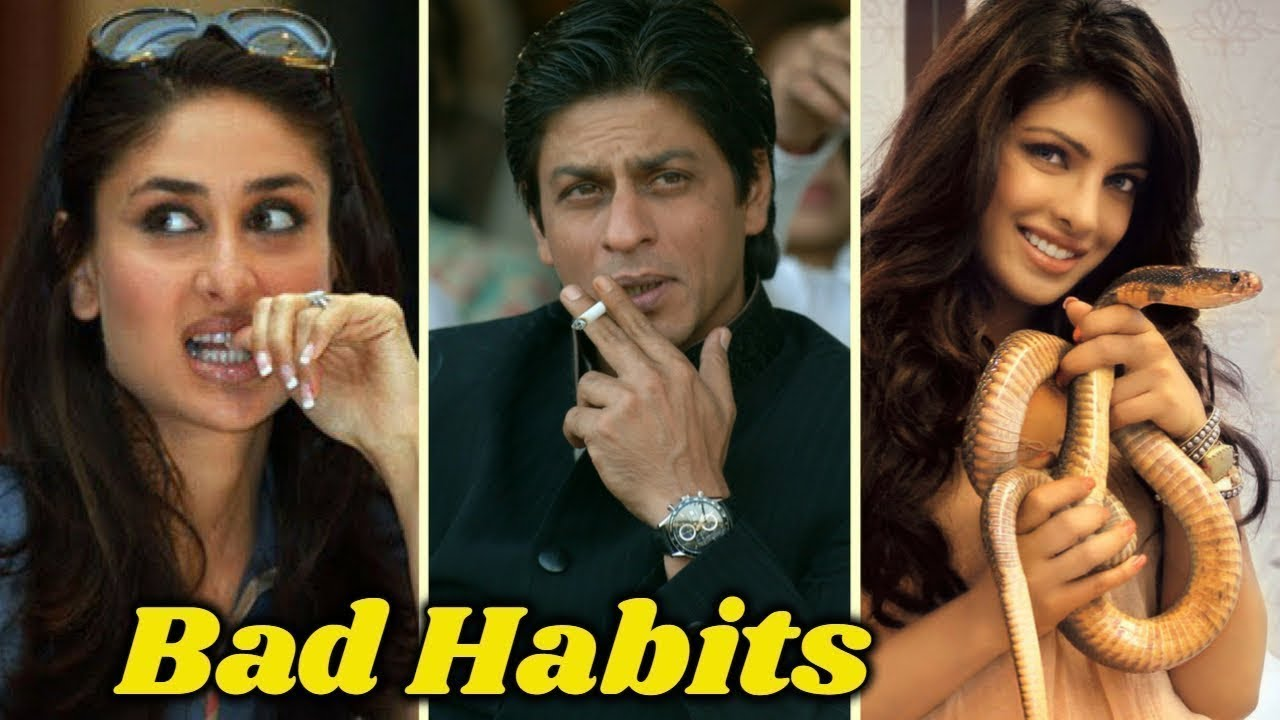 top 8 bollywood actresses and their bad habits - youtube
