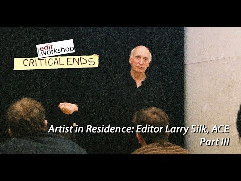 Editor Larry Silk, ACE Discusses his work on