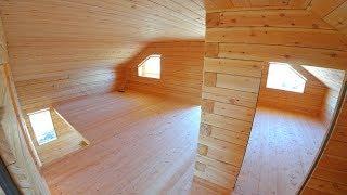 Строительство. Дом из бруса. Якутия. Часть 2