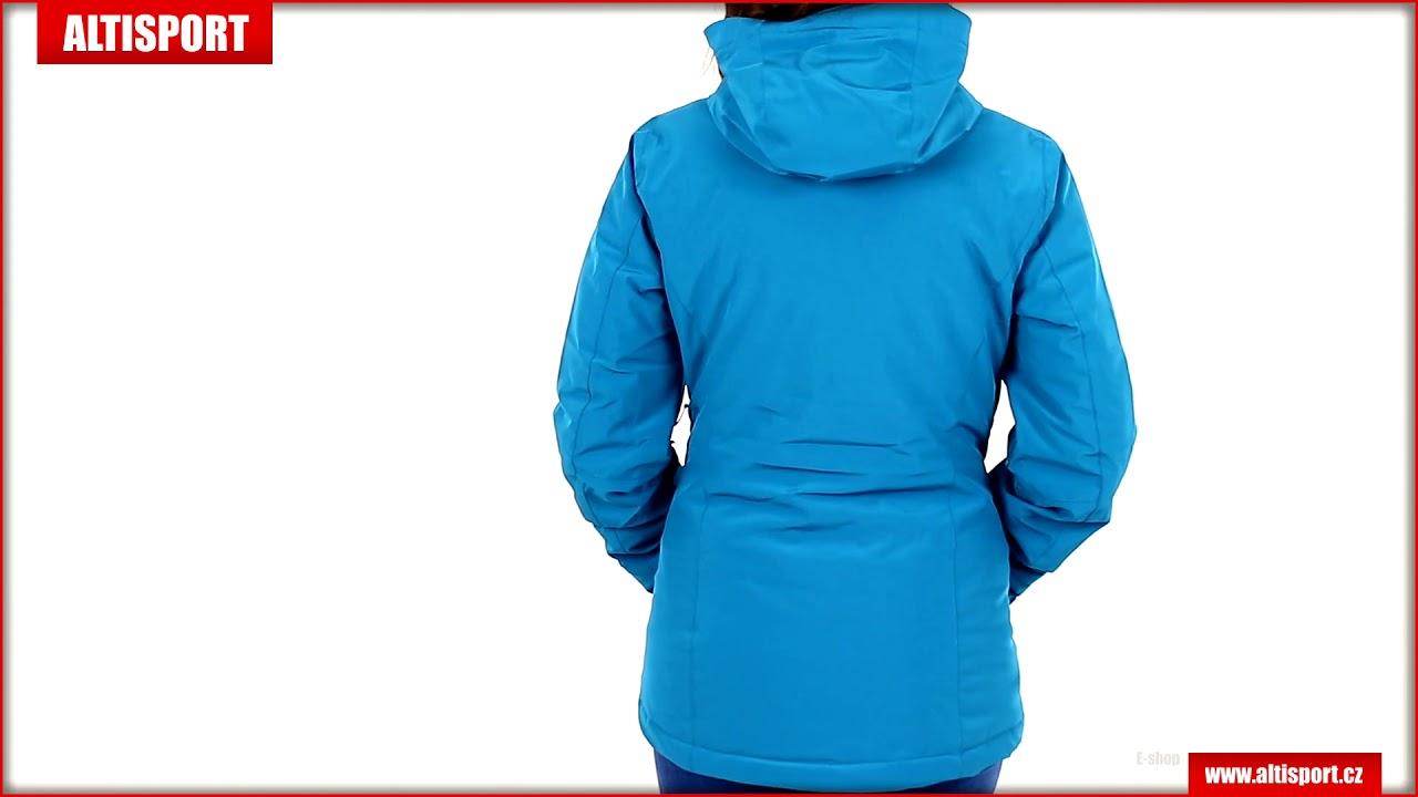 dámská lyžařská bunda salomon stormpunch jkt w lc1208600 lyons blue