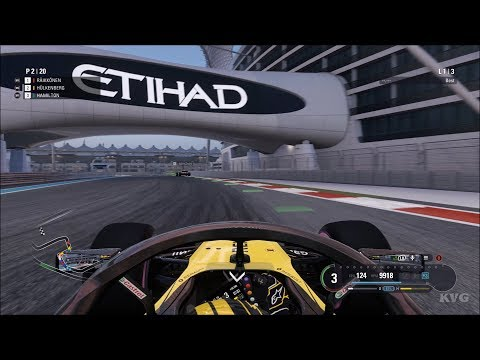 F1 2018 - Yas Marina Circuit (Abu Dhabi GP) - Gameplay (PC HD) [1080p60FPS]