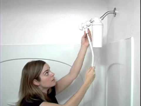 aquasana aq4105 shower filter with handheld wand