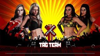 WWE 2K18 - The Beautiful People VS The IIconics