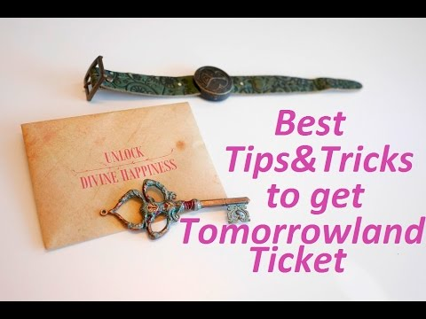How to get a Tomorrowland ticket?