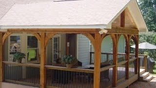 Deck Roof Styles