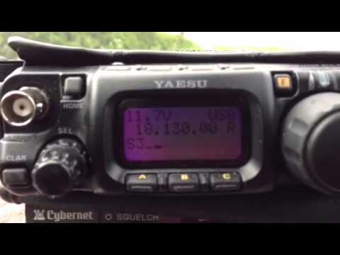 18Mhz Listening To AB1A Massachusetts In QSO With G4YER