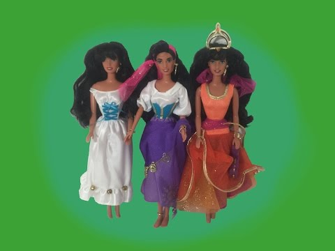 RETRO DOLL REVIEW - Hunchback of Notre Dame ESMERALDA dolls reviews