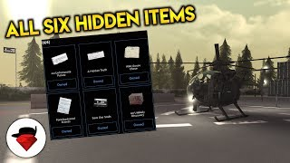 How to Find the 6 Hidden Items | Blackhawk Rescue Mission [ROBLOX]