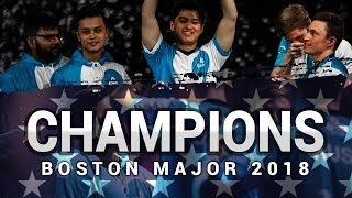 CHAMPIONS - Cloud9 at ELEAGUE Boston Major 2018 (Fragmovie)