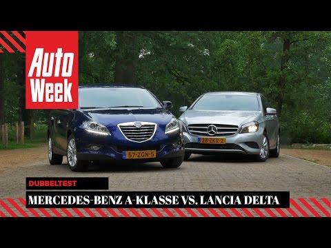 Mercedes A180 vs Lancia Delta - AutoWeek Dubbeltest