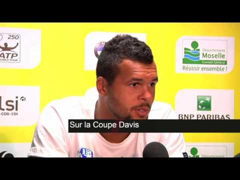 TENNIS - ATP - Metz : Tsonga : «Aller me reposer»