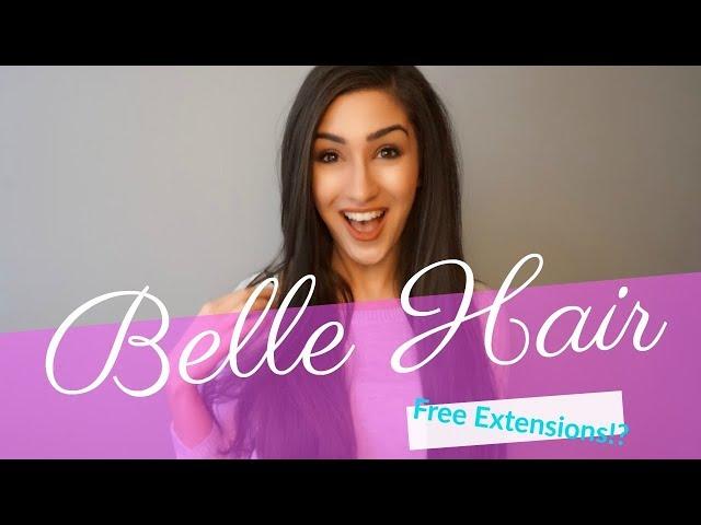 Belle Hair Free Extensions Layan Bee