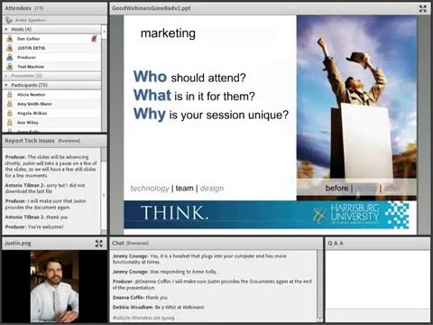Avoiding Webinar and Virtual Classroom Pitfalls Webinar