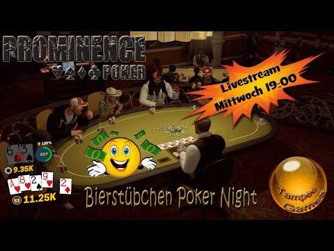 Prominence Poker Livestream Mittwoch auf Twitch um 19 00 Uhr