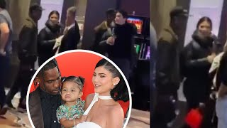 Kylie Jenner and Travis Scott spotted together at casino in Palm Springs after Thanksgiving
