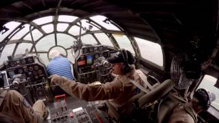 Crawl through a B-29 Superfortress IN FLIGHT! + Real-Time procedures / ATC - Oshkosh AirVenture!