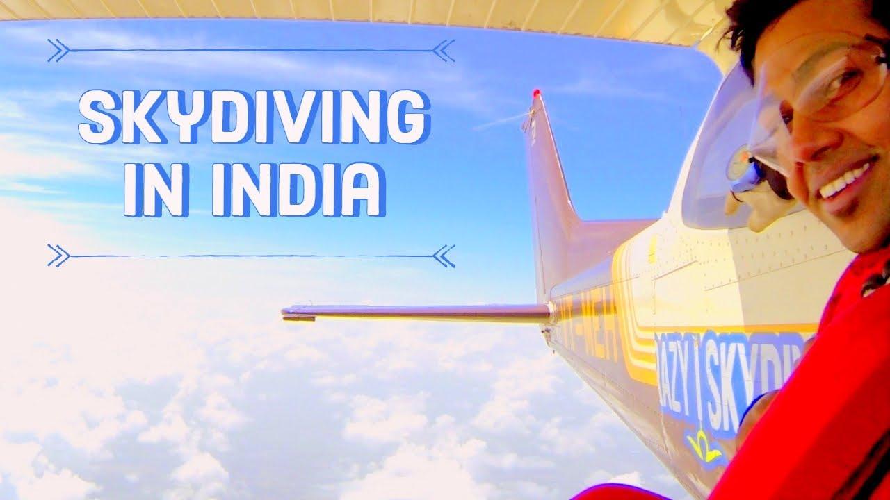 Skydiving In India - Mysore | SKYRIDERS | KAKINI | Tandem Skydiving | GoPro