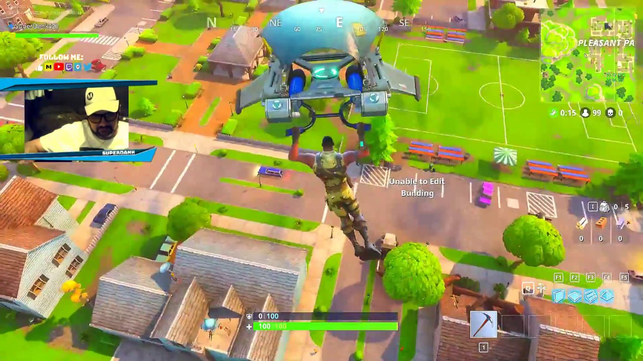 FORTNITE BATTLE ROYALE GAME PLAY   EPIC GAMES   UNREAL ...