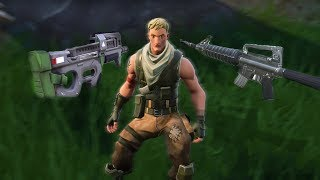 So I went Invisible on Fortnite