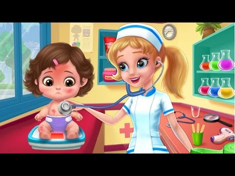 soins b b jeux de docteur pour enfants i crazy nursery baby care youtube. Black Bedroom Furniture Sets. Home Design Ideas