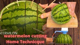 9 watermelon hacks aฑd ways to cut watermelon cutting haks