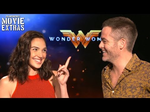 Wonder Woman (2017) Gal Gadot & Chris Pine talk about their experience making the movie