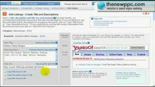 The New PPC - Video 3 - Setting up Yahoo Search Campaigns