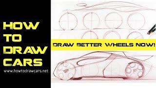 Car Design Drawings - Secrets of Drawing Wheels