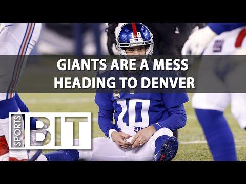 New York Giants at Denver Broncos | Sports BIT | NFL Picks