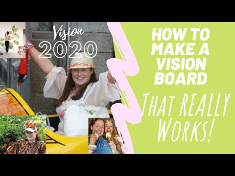 How to Make a Vision Board that REALLY Works!!