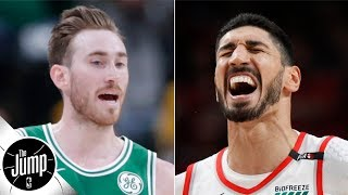Gordon Hayward will be an All-Star contender, according to Enes Kanter | The Jump
