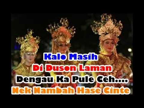 South Sumatra Regional songs Wander away - Local Songs Indonesia