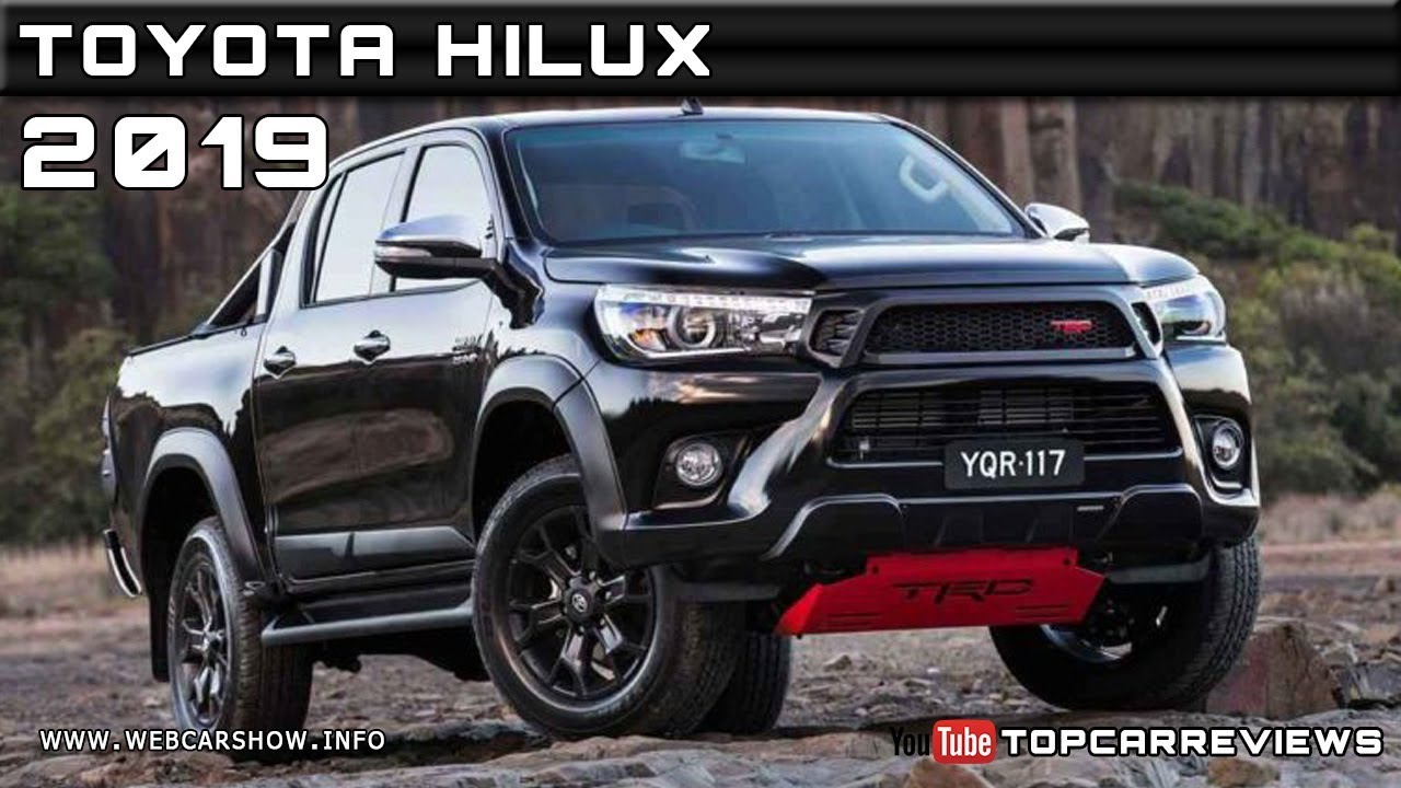 2019 TOYOTA HILUX Review Rendered Price Specs Release Date