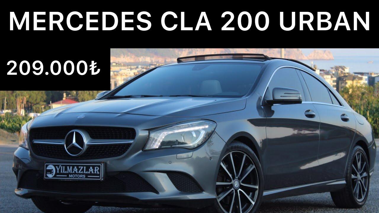 MERCEDES CLA 200 URBAN PAKET 1.6 MOTOR SATIŞA HAZIR 2. EL ...