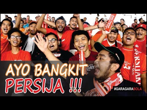 #NontonBola | Ayo Bangkit Persija !! (SF AFC Cup 2018 Asean Zone : Persija Jakarta vs Home United)