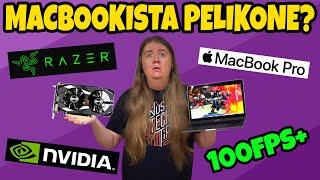 Tehdään MacBookista PELIKONE?!?