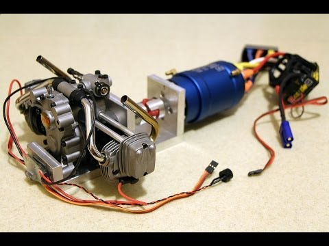 power station for rc hybrid vehicle first run youtube