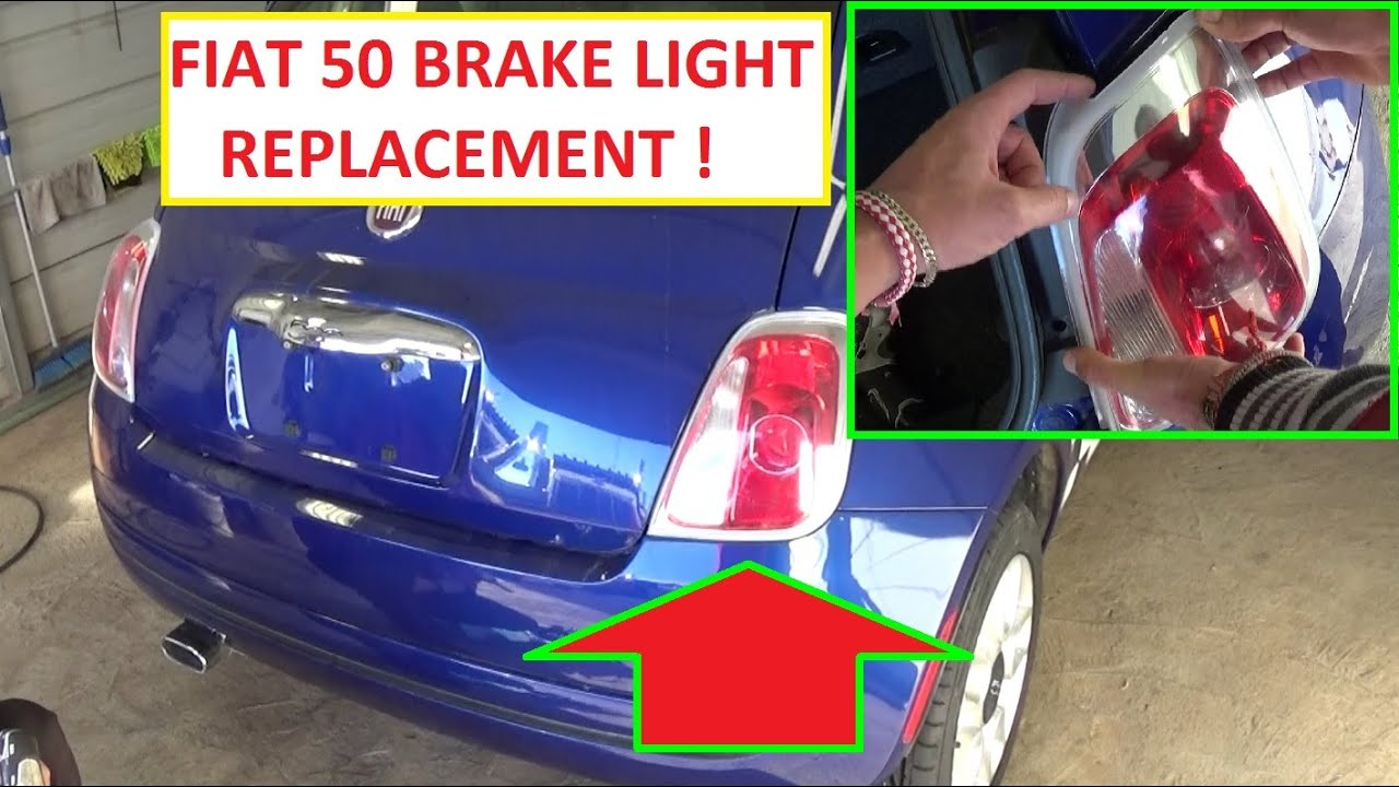 maxresdefault how to replace the tail light assembly or the brake light rear Fiat 500 Abarth Tributo Ferrari at soozxer.org