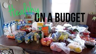 Healthy On A Budget Grocery Haul + Meal Ideas!