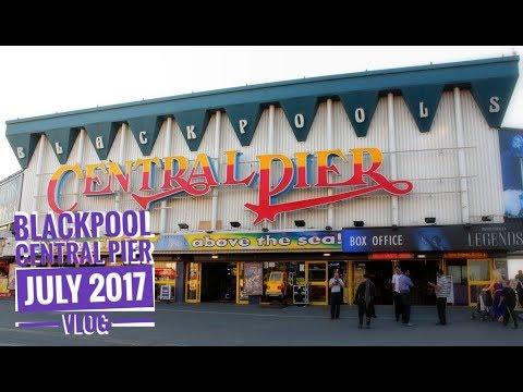 Blackpool Central Pier ¦ July 2017 ¦ Vlog