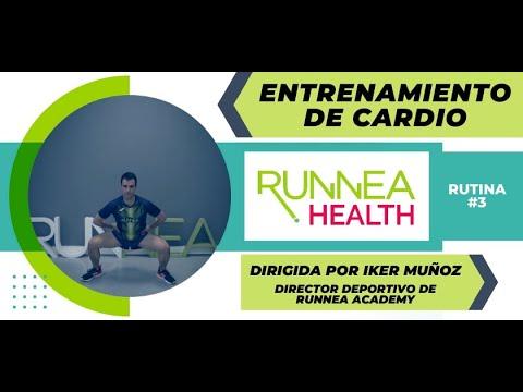 Sesión cardio de 15 minutos para hacer en casa con Iker Muñoz, director deportivo de Runnea Academy