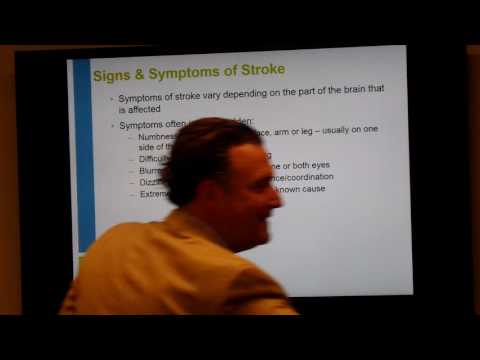 Styker Stroke Education In-Service