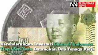 Rahasia Umum, Setiap Cina Investasi, Pasti Dibarengi Masuknya Tenaga Kerja Cina ke Indonesia